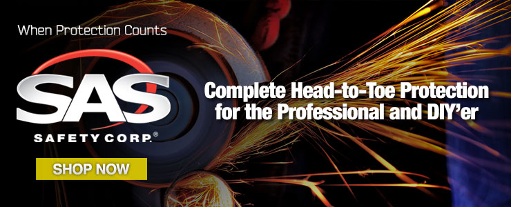 SAS Safety - Complete Head-to-Toe Protection for the Professional and DIYer